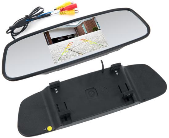 цена на Зеркало заднего вида с монитором Swat VDR-2U 5 16:9 800x480