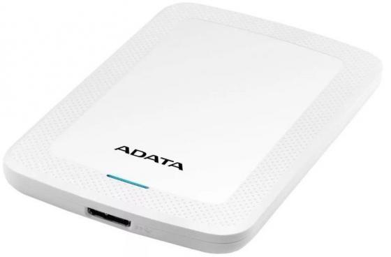 Жесткий диск A-Data USB 3.0 1Tb AHV300-1TU31-CWH HV300 2.5 белый hdd a data hv100 1tb white
