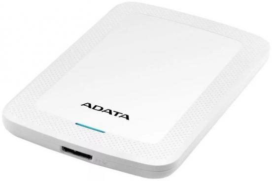Жесткий диск A-Data USB 3.0 2Tb AHV300-2TU31-CWH HV300 2.5 белый жесткий диск apple time capsule 802 11ac 2tb me177ru a
