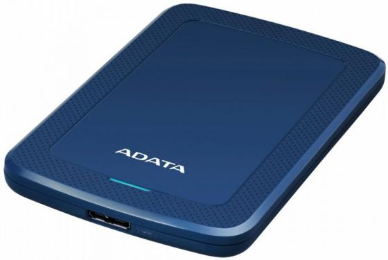 "Жесткий диск A-Data USB 3.0 2Tb AHV300-2TU31-CBL HV300 2.5"" синий жесткий диск a data usb 3 0 2tb ahv300 2tu31 cwh hv300 2 5"