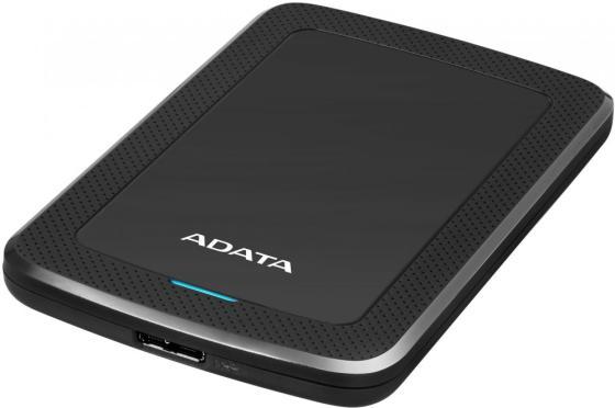 """Жесткий диск A-Data USB 3.0 4Tb AHV300-4TU31-CBK HV300 2.5"""" черный внешний жесткий диск a data hv300 4тб красный [ahv300 4tu31 crd]"""