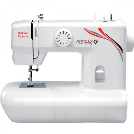 Швейная машина Astralux Rose Line белый/рисунок швейная машина astralux blue line ii белый