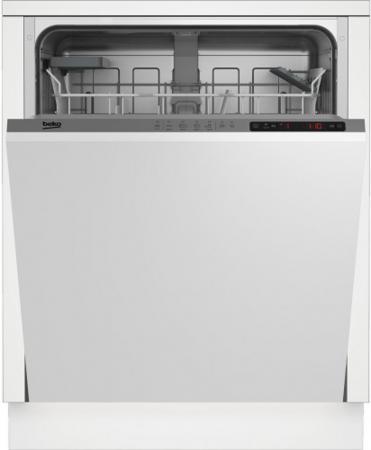 Посудомоечная машина Beko DIN24310 2100Вт полноразмерная посудомоечная машина beko dfn 05310 w