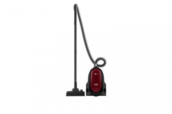 Пылесос LG VK76A06NDRP 1600Вт красный lg lg g360 красный 0 02гб 2 sim