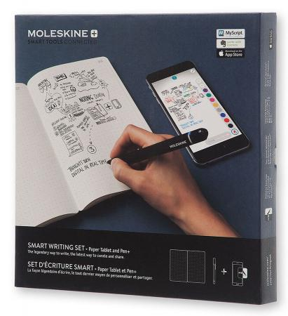 Набор Smart Writing Moleskine PTSETA (блокнот Paper Tablet/ ручка SMART PEN+) new huion 680s 8 inch animation graphic tablets signature pen tablet boards professional digital pen tablet pad ship from ru