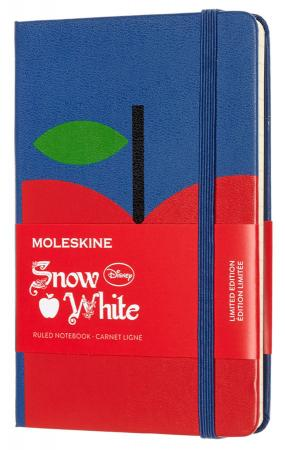 Блокнот Moleskine Limited Edition SNOW WHITE LESNMM710AP Pocket 90x140мм 192стр. линейка Apple (Яблоко) еженедельник moleskine limited edition denim wknt pocket 90x140мм 144стр черный