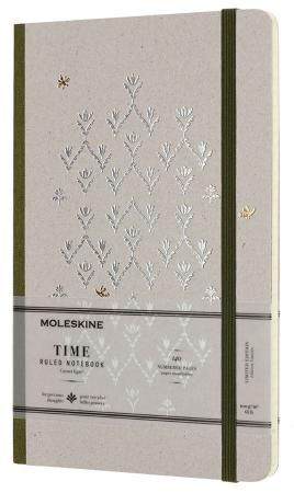 Ежедневник недатированный Moleskine Limited Edition TIME NOTEBOOKS Large 130x210 мм картон LCTM31K