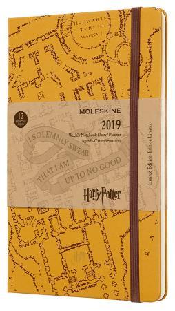 Еженедельник Moleskine Limited Edition HARRY POTTER WKNT Large 130х210мм 144стр. бежевый harry potter ollivanders dumbledore the elder wand in box prop replica