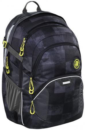 цена Школьный рюкзак светоотражающие материалы Coocazoo JobJobber2: Mamor Check 30 л черный серый 00138721 онлайн в 2017 году