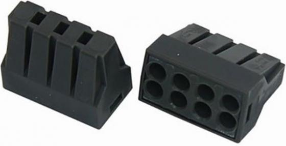 Соединительная клемма с пастой, 8-и проводная до 2,5 мм?, (5шт.) REXANT