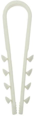 Дюбель-хомут 11-18 белый (10 шт.) PROCONNECT