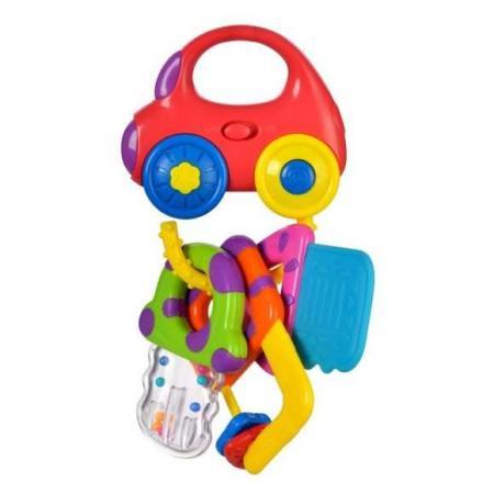 Интерактивная игрушка Жирафики Машинка с ключиками от 6 месяцев интерактивная игрушка жирафики каруселька для купания от 18 месяцев разноцветный 681124