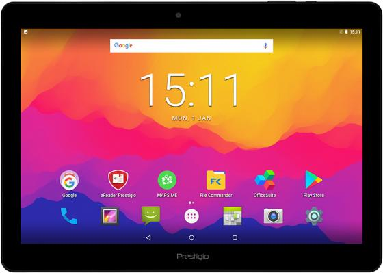 Prestigio Wize 3161 3G [PMT3161_3G_C_CIS]{Single SIM, 3G, 10.1''(800*1280)IPS display, Android 7.0, up to 1.3GHz quad core, 1GB DDR, 8GB Flash, 0.3MP Front + 2.0MPr} black tesla element 7 0 black quad core 1 3 ghz 7 1024 600 ips ram 512mb rom 8gb 2200mah wifi 3g bt 0 3mp android 6 0