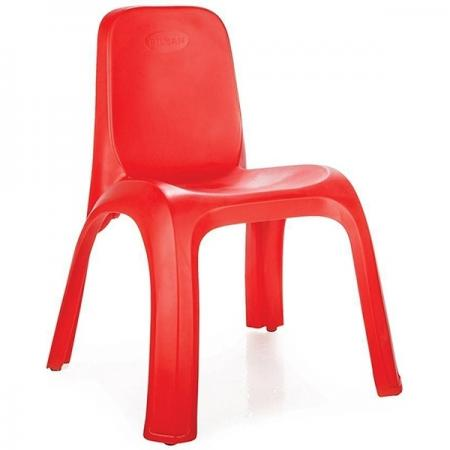 Стул детский Pilsan King Chair (03-417) Красный детский стул king kids детский пластиковый стул королевский красный