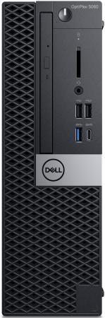 ПК Dell Optiplex 5060 SFF i5 8500 (3)/8Gb/SSD256Gb/UHDG 630/DVDRW/Linux/GbitEth/200W/клавиатура/мышь/черный