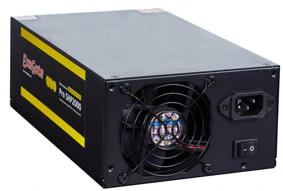 Фото - Блок питания ATX 2000 Вт Exegate SHP2000 Mining Edition EX270872RUS блок питания accord atx 1000w gold acc 1000w 80g 80 gold 24 8 4 4pin apfc 140mm fan 7xsata rtl