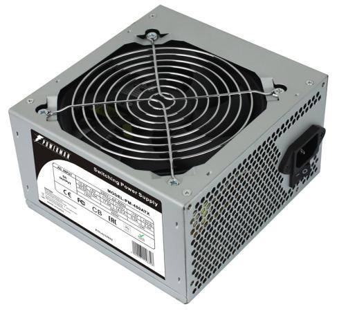 Блок питания ATX 450 Вт Powerman PM-450ATX 6115832 цена