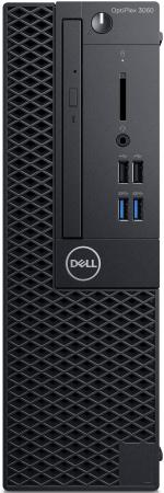 Купить ПК Dell Optiplex 3060 SFF i5 8500 (3)/8Gb/1Tb 7.2k/UHDG 630/DVDRW/Windows 10 Professional/GbitEth/200W/клавиатура/мышь/черный