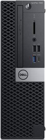 Системный блок DELL Optiplex 7060 SFF Intel Core i7 8700 16 Гб 2Tb + 16Gb SSD AMD Radeon RX 550 4096 Мб Windows 10 Pro 7060-6184 ноутбук hp 15 bs090ur 15 6 intel core i7 7500u 2 7ггц 6гб 1000гб 128гб ssd amd radeon 530 4096 мб dvd rw windows 10 2cv67ea мятный