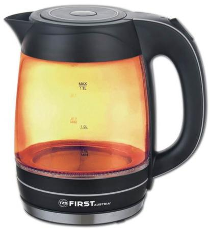 Чайник First 5405-3-OR 2200 Вт оранжевый 1.8 л стекло