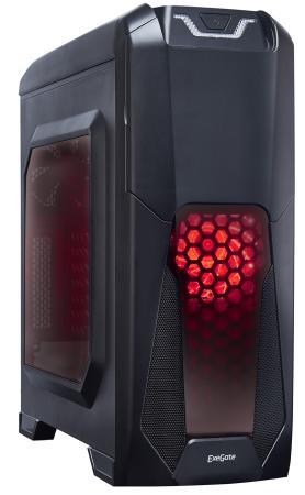 Корпус ATX Exegate EVO-8202 700 Вт чёрный цена и фото