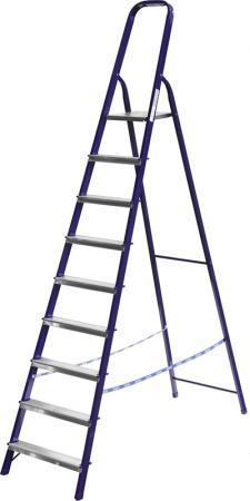 Лестница-стремянка СИБИН стальная, 10 ступеней, 208 см [38803-10] стремянка стальная 6 ступеней алюмет m8406