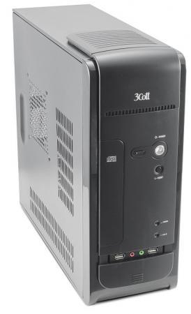 Корпус microATX 3Cott S10 II 400 Вт чёрный все цены