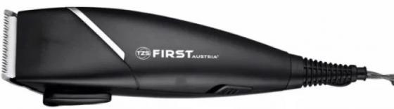 5674-4 Машинка для стрижки FIRST Мощность 15 Вт.Лезвие из нержавеющей стали. Black first 5674