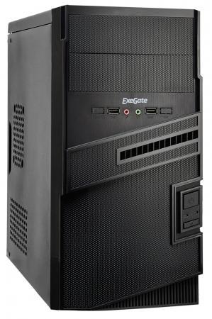 Корпус microATX Exegate BA-112U 400 Вт чёрный корпус exegate ba 110 ab500 black