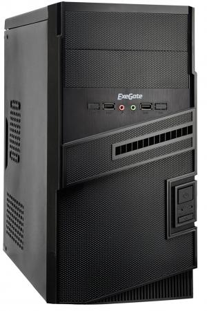 Корпус microATX Exegate BA-112 400 Вт чёрный EX268704RUS цена