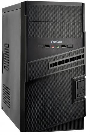 Корпус microATX Exegate BA-112 450 Вт чёрный EX268703RUS корпус exegate ba 110 ab500 black
