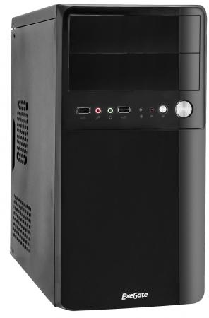Корпус microATX Exegate BA-110 400 Вт чёрный EX268706RUS корпус exegate ba 110 ab500 black