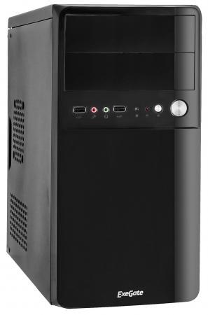 Корпус microATX Exegate BA-110 350 Вт чёрный EX268705RUS корпус exegate ba 110 ab500 black
