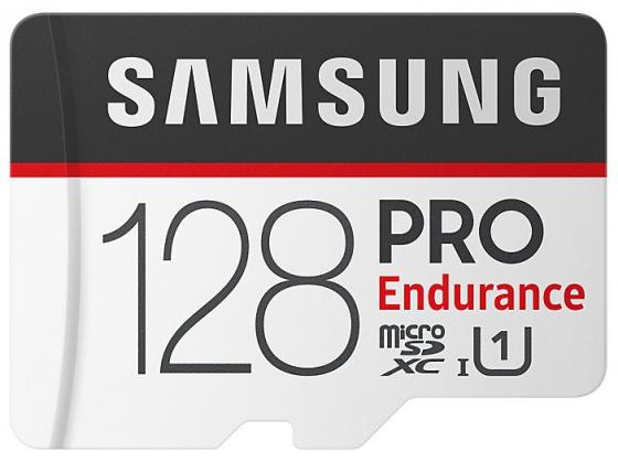 Карта памяти MicroSDXC 128GB Samsung Pro Endurance Class 10 MB-MJ128GA/RU карта памяти samsung microsdxc evo v2 128gb adapter mb mc128garu