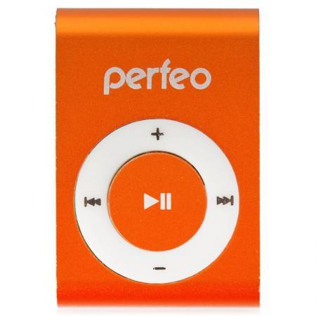 Perfeo цифровой аудио плеер Titanium Lite, оранжевый (PF_A4184) плеер perfeo titanium lite green pf a4145