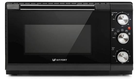 1708-KT Духовка Kitfort Мощность max 1650 Вт.Объём 20 л.