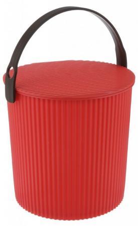 Ведро-стул ИЗУМРУД 102-красное Bambini красное 10л ведро стул grande желтое изумруд 20л