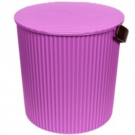 Ведро-стул ИЗУМРУД 104-филетовое Bambini фиолетовое 10л ведро стул grande желтое изумруд 20л
