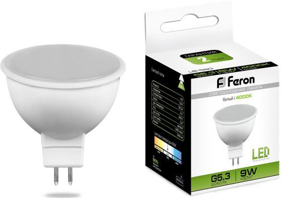 Купить Лампа светодиодная FERON 25840 (9W) 230V G5.3 4000K, LB-560