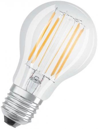 Лампа светодиодная OSRAM 485571 LED STAR CLASSIC LEDVANCE, A 75 8W/827 230V FIL E27 FS1