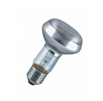 Лампа накаливания OSRAM CONCENTRA R63 60W E27   длина 104 мм Диаметр 63 м