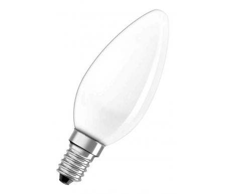 цены Лампа накаливания OSRAM CLASSIC B FR 25W E14 длина 100 мм Диаметр 35 м