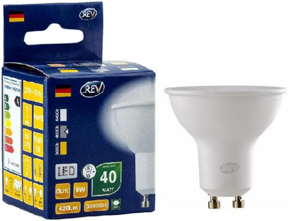 цена на Лампа светодиодная рефлекторная Rev ritter 32329 7 GU10 5W 4000K