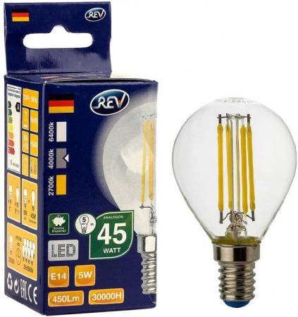 Лампа светодиодная REV RITTER 32358 7 5Вт E14 480лм 4000K холодный свет 23 rev 30 women