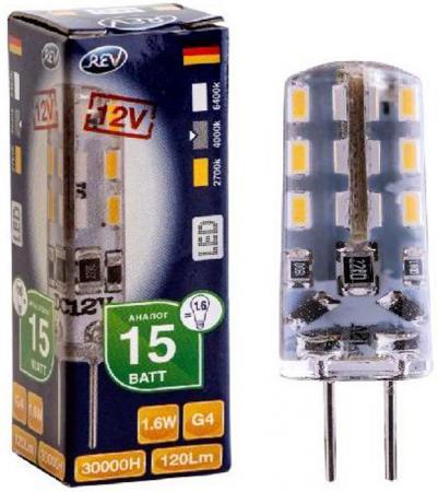 Лампа светодиодная REV RITTER 32366 2 1.6Вт G4 120лм 4000К холодный свет used n76v rev 2 2 suitable for asus n76v n76vz n76vj n76vb n76vm laptop motherboard