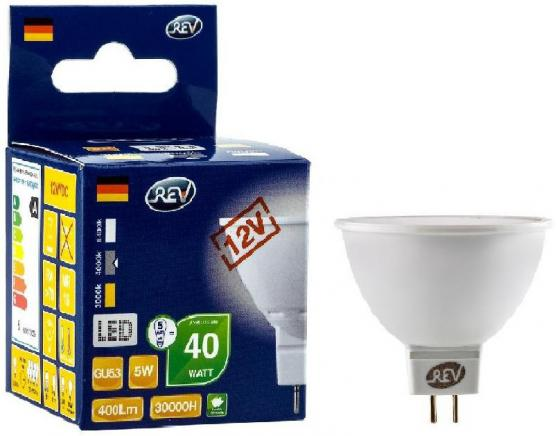 Лампа светодиодная REV RITTER 32372 3 5Вт GU5.3 420лм 4000К холодный свет