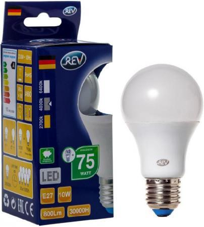 Лампа светодиодная шар Rev ritter 32267 2 E27 10W 4000K