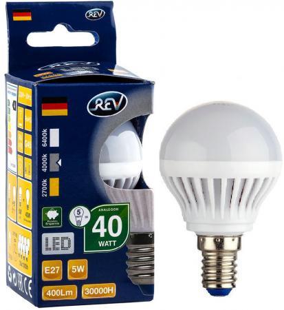 Лампа светодиодная шар Rev ritter 32263 4 E27 5W 4000K