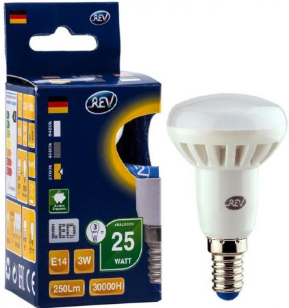 цена на Лампа светодиодная REV RITTER 32361 7 3Вт E14 250лм 2700К теплый свет