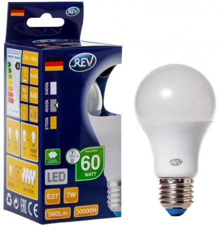 Лампа светодиодная шар Rev ritter 32265 8 E27 7W 4000K